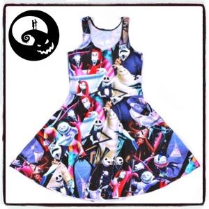 Disney The Nightmare Before Christmas party dress